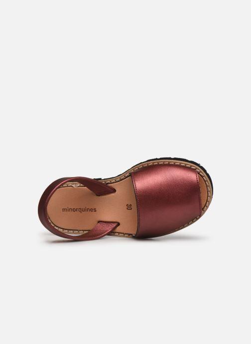 Sandali e scarpe aperte Minorquines Avarca E Argento immagine sinistra