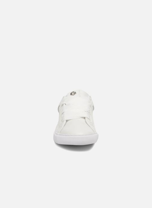 Baskets Unisa Xica Blanc vue portées chaussures