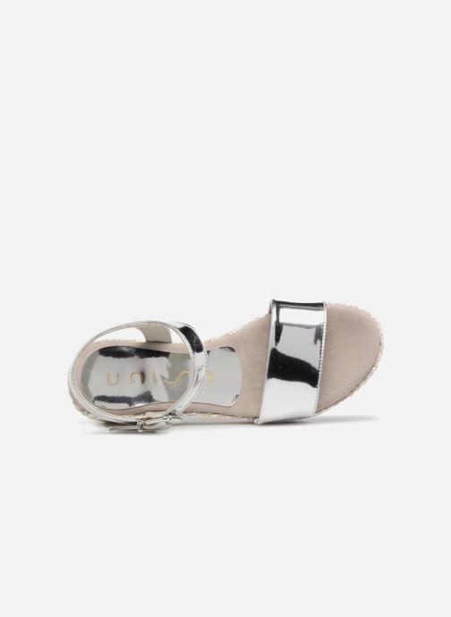 Sandali e scarpe aperte Unisa Terete Argento immagine sinistra