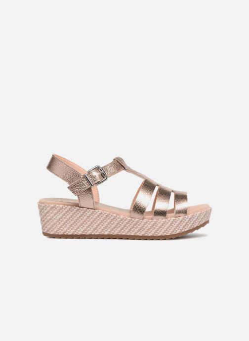 Sandali e scarpe aperte Unisa Tupsy Oro e bronzo immagine posteriore