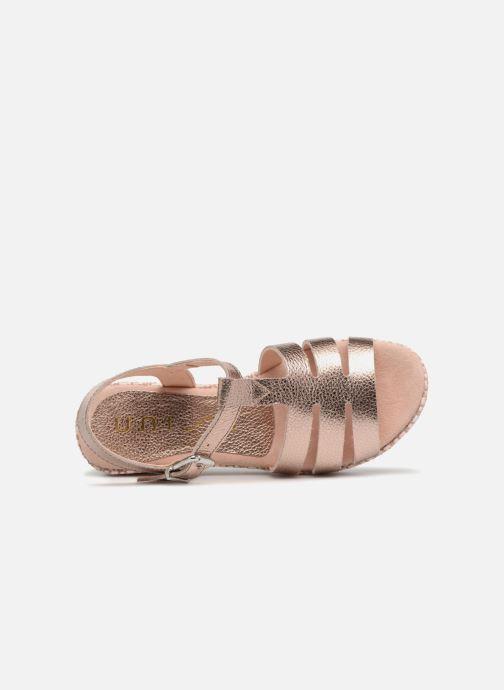 Sandali e scarpe aperte Unisa Tupsy Oro e bronzo immagine sinistra