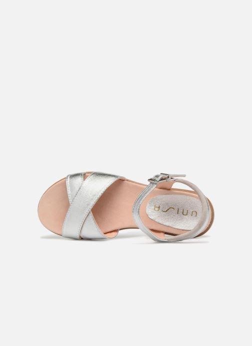 Sandali e scarpe aperte Unisa Lapito Argento immagine sinistra