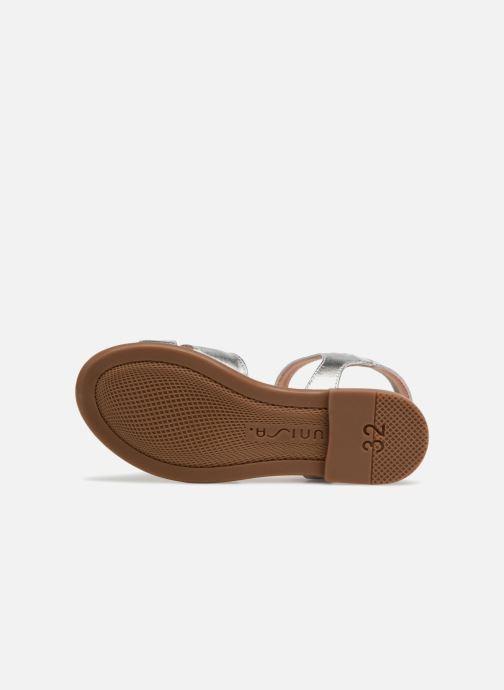 Sandali e scarpe aperte Unisa Lapito Argento immagine dall'alto