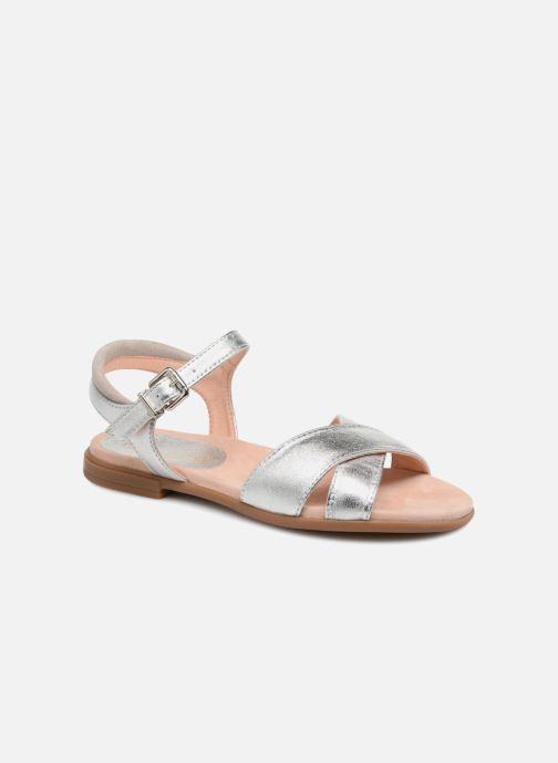 Sandales et nu-pieds Unisa Lapito Argent vue détail/paire