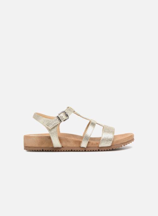 Sandales et nu-pieds Unisa Korsi Or et bronze vue derrière
