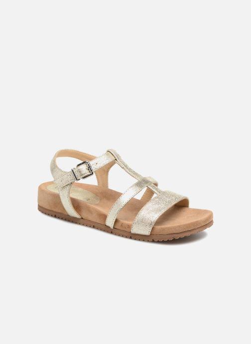 Sandales et nu-pieds Unisa Korsi Or et bronze vue détail/paire