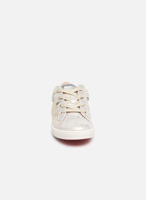Baskets Acebo's Roma Or et bronze vue portées chaussures
