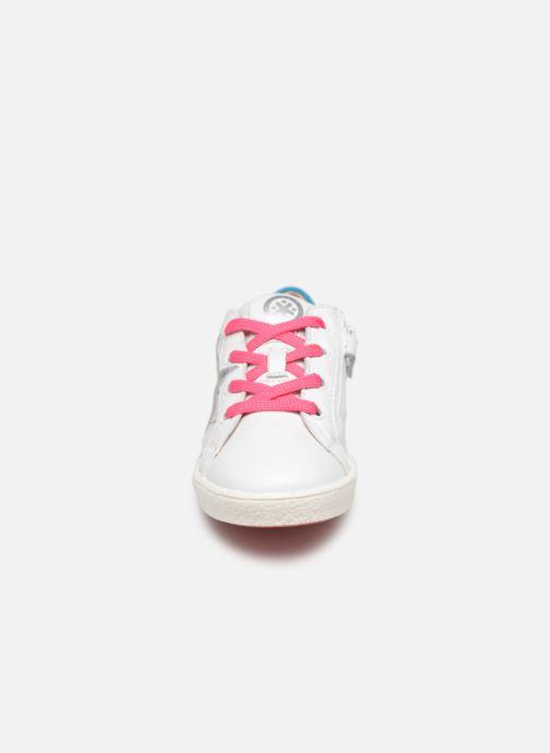 Baskets Acebo's Roma Blanc vue portées chaussures