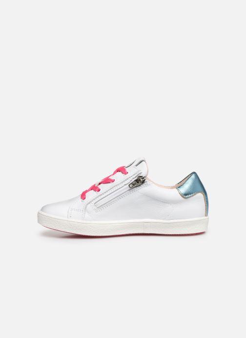 Sneaker Acebo's Roma weiß ansicht von vorne