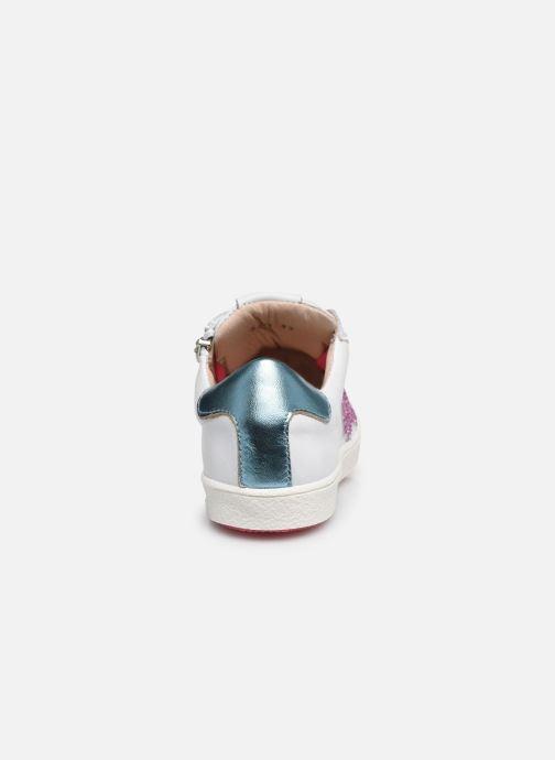 Sneaker Acebo's Roma weiß ansicht von rechts