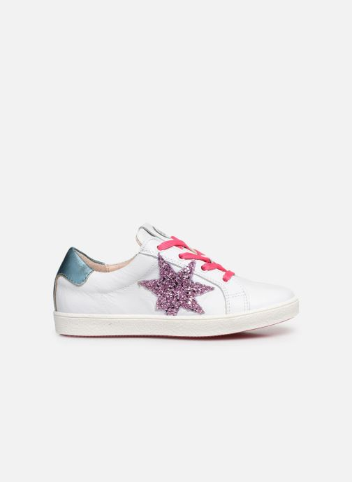 Sneaker Acebo's Roma weiß ansicht von hinten