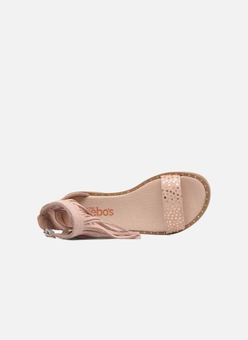 Sandales et nu-pieds Acebo's Kim Rose vue gauche