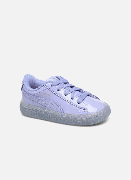 Sneakers Puma Inf Basket Patent Blå detaljeret billede af skoene