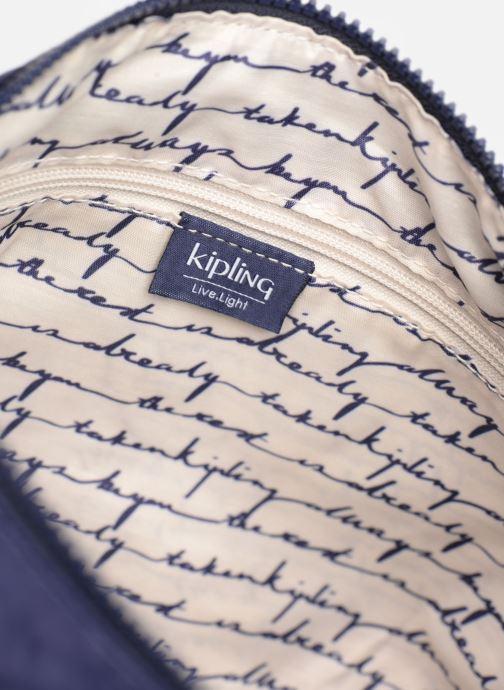 Handtassen kipling Izellah Blauw achterkant
