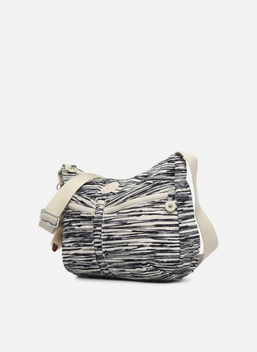 Sacs à main kipling Izellah Blanc vue portées chaussures