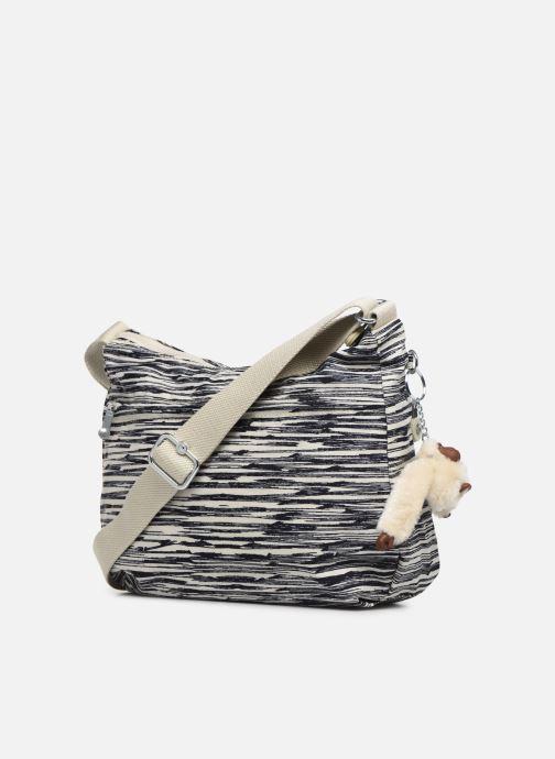 Handtaschen Kipling Izellah weiß ansicht von rechts