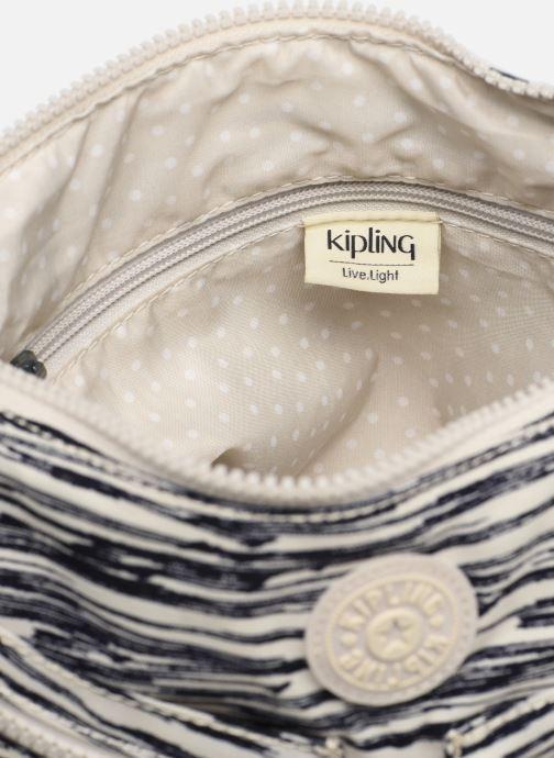 Handtassen kipling Izellah Wit achterkant