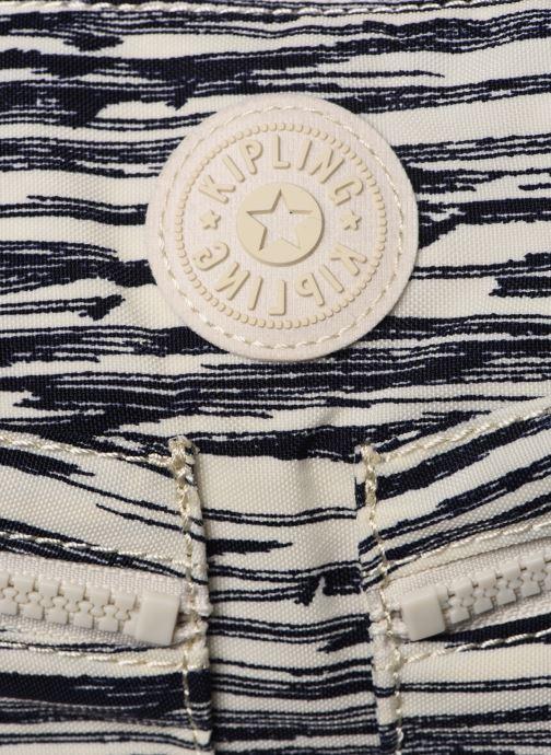 Handtaschen Kipling Izellah weiß ansicht von links