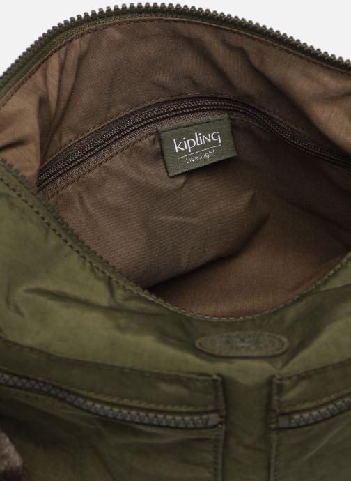 Handtaschen Kipling Izellah grün ansicht von hinten