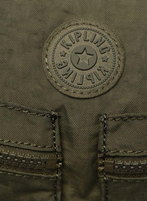 Handtaschen Kipling Izellah grün ansicht von links