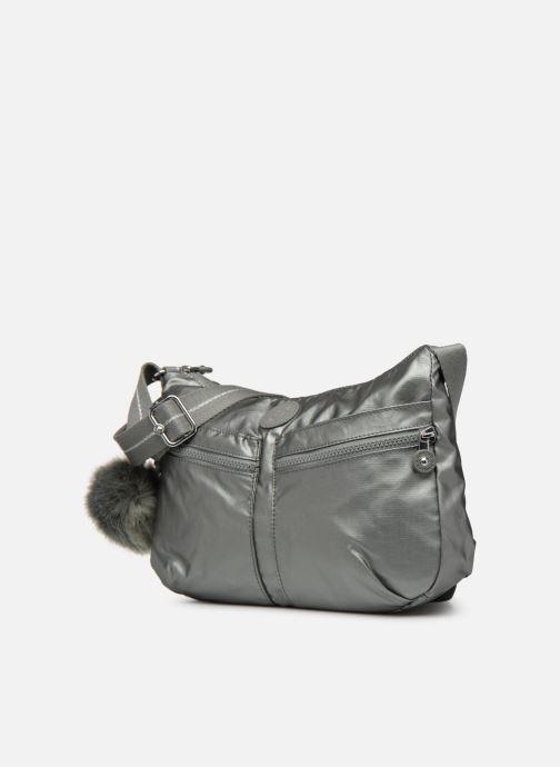 Handtaschen kipling Izellah silber schuhe getragen