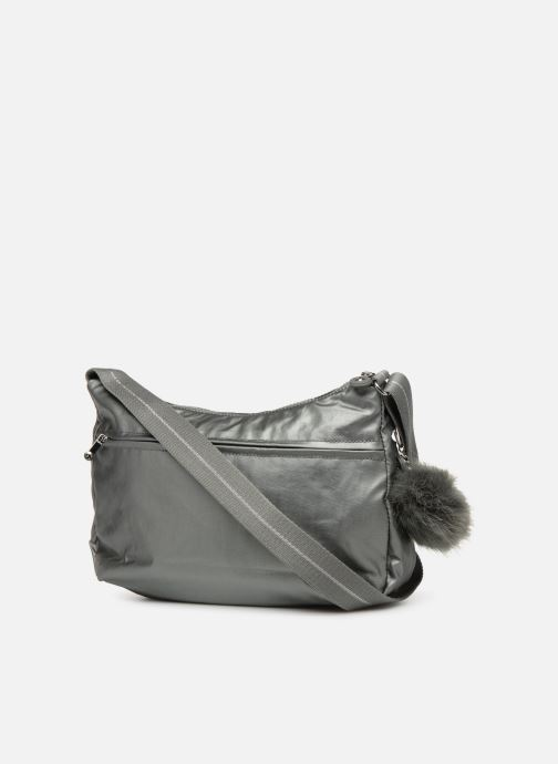 Handtaschen kipling Izellah silber ansicht von rechts