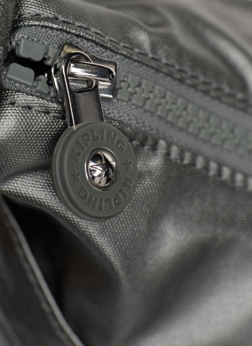 Handtaschen kipling Izellah silber ansicht von links