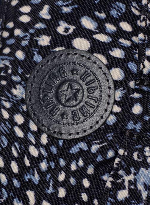 Handtaschen kipling Izellah blau ansicht von links