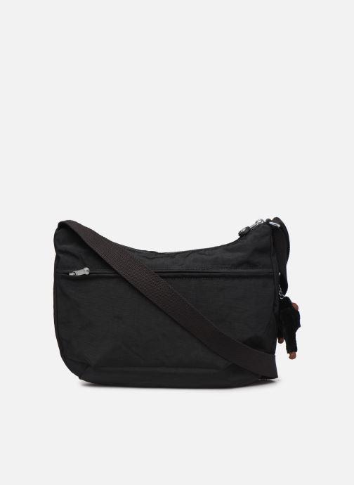 Handtaschen kipling Izellah schwarz ansicht von vorne