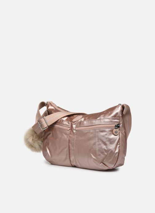 Bolsos de mano Kipling Izellah Rosa vista del modelo