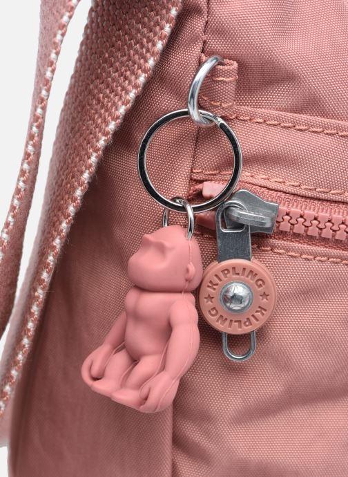 Handtaschen Kipling Izellah rosa ansicht von links