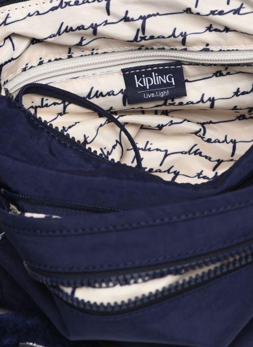 Handtaschen Kipling Arto blau ansicht von hinten