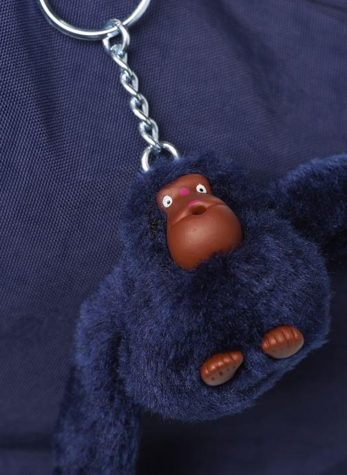 Handtaschen Kipling Arto blau ansicht von links