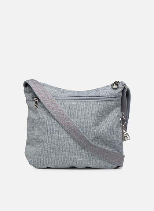 Handtaschen Kipling Arto grau ansicht von vorne