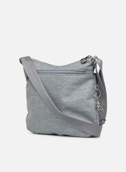 Handtaschen Kipling Arto grau ansicht von rechts