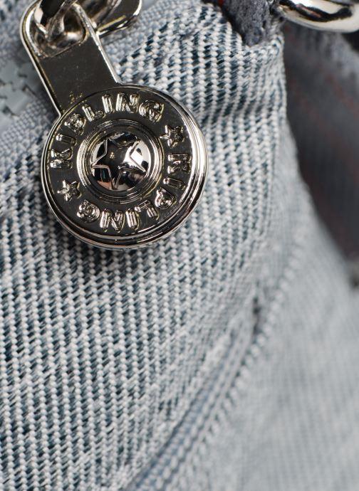 Handtaschen Kipling Arto grau ansicht von links