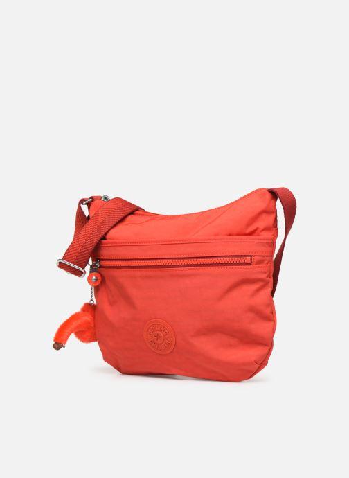 Handtaschen Kipling Arto rot schuhe getragen