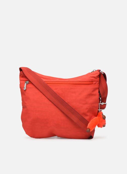 Handtaschen Kipling Arto rot ansicht von vorne