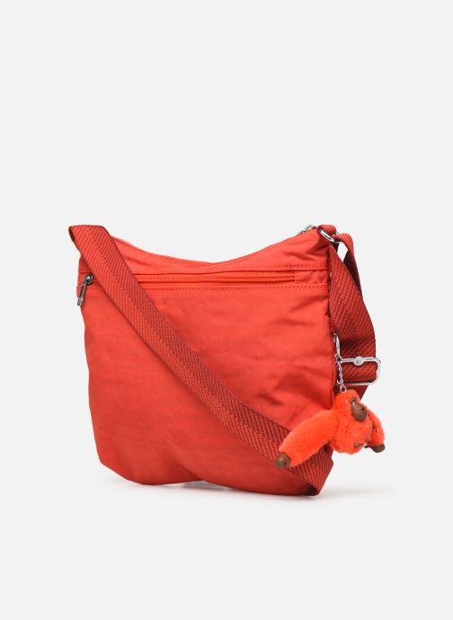 Handtaschen Kipling Arto rot ansicht von rechts