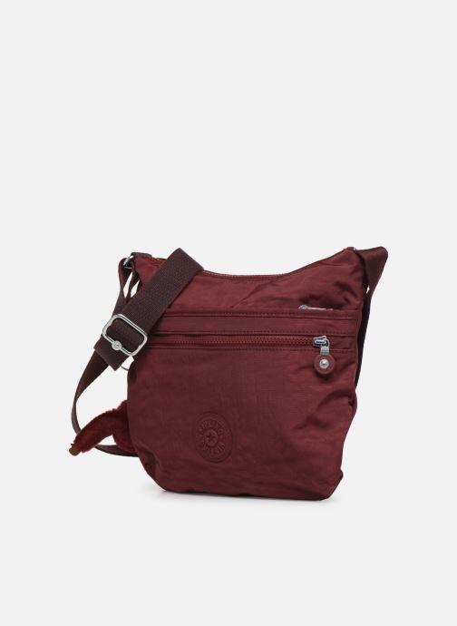 Handtaschen kipling Arto weinrot schuhe getragen