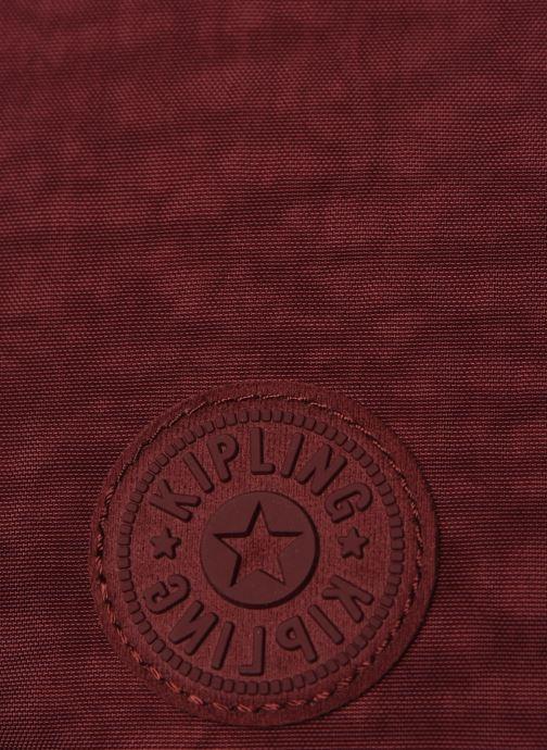 Sacs à main Kipling Arto Bordeaux vue gauche
