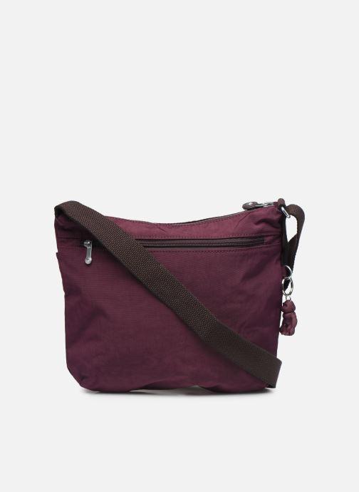 Handtaschen Kipling Arto weinrot ansicht von vorne