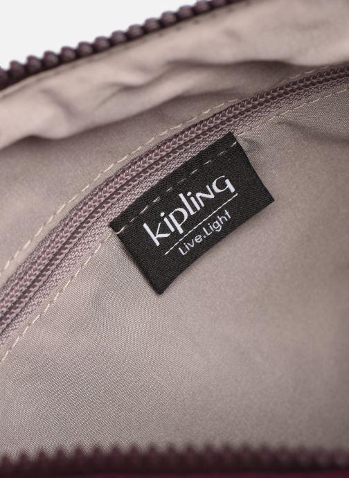 Handtaschen Kipling Arto weinrot ansicht von hinten