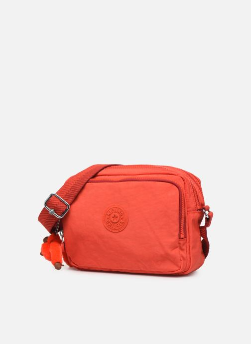 Handtaschen kipling Silen rot schuhe getragen