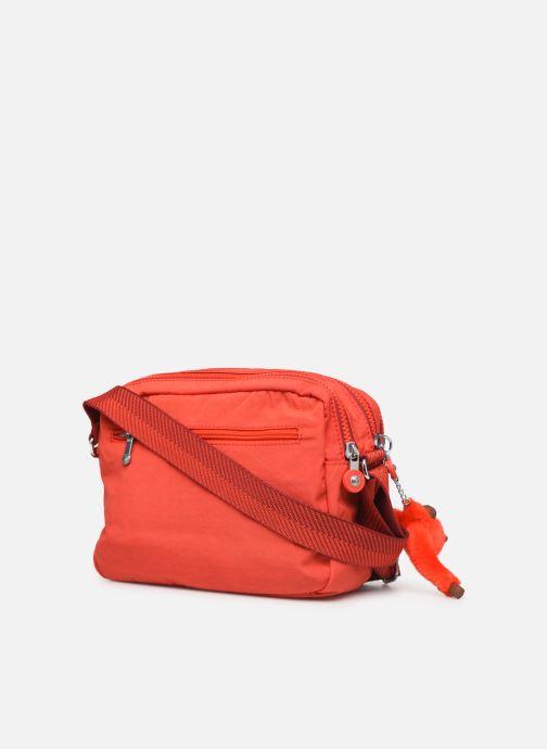 Handtaschen kipling Silen rot ansicht von rechts