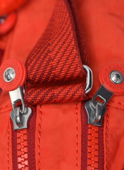 Handtaschen kipling Silen rot ansicht von links