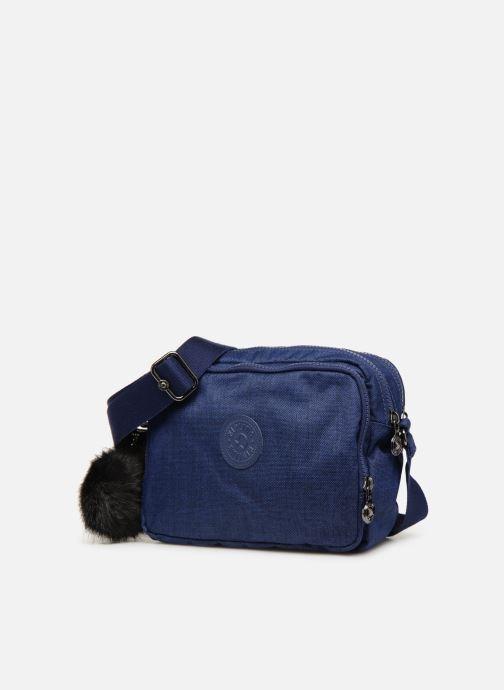 Handtaschen kipling Silen blau schuhe getragen