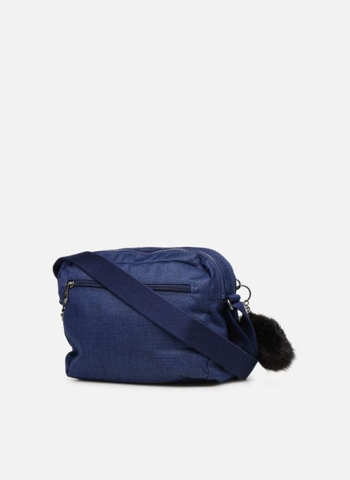 Handtaschen kipling Silen blau ansicht von rechts