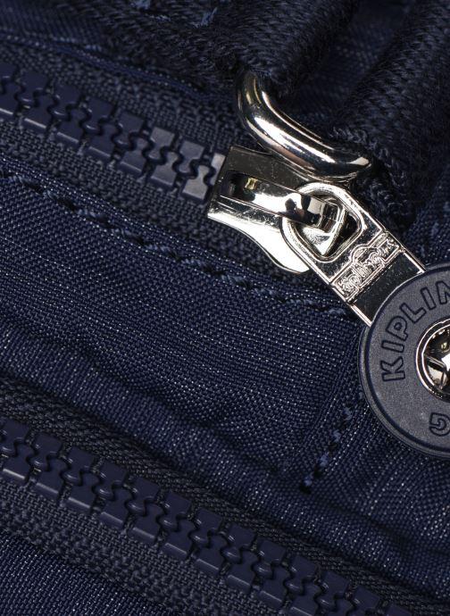 Handtaschen Kipling Silen blau ansicht von links