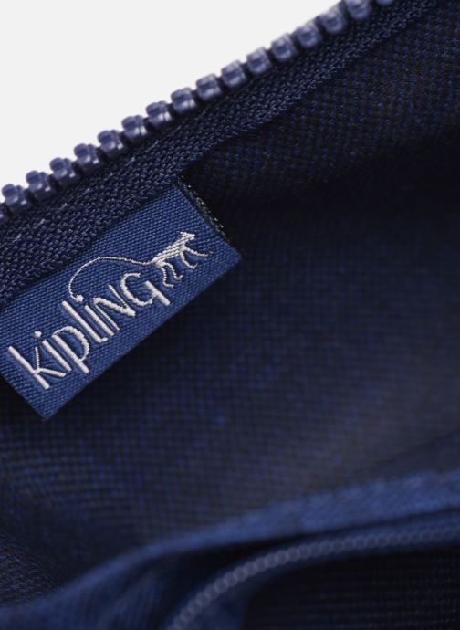 Handtassen kipling Silen Blauw achterkant
